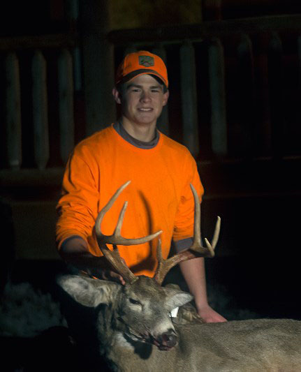 Austin G. 8 pointer harvested on December 4th in Wayne County, PA.