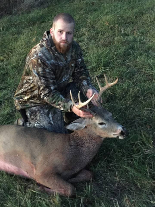 Jack H. Harvested my first archery buck on Oct. 25, 2015 in Benton Twp., PA