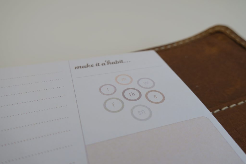 Paper Bean Press Habit Tracker