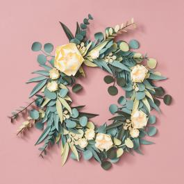 Virtual Workshop: Eucalyptus Greenery Wreath
