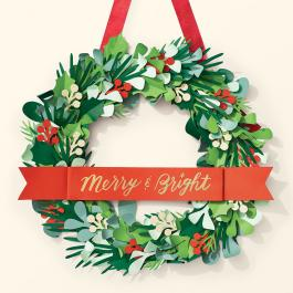 Virtual Workshop: Merry & Bright Wreath