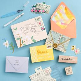 Virtual Workshop: Insta-Worthy Envelopes