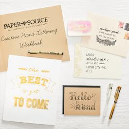 Virtual Workshop: Creative Hand Lettering