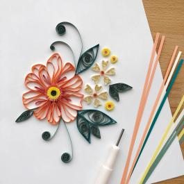 Virtual Workshop: Floral Quilling