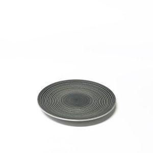Circle stoneware lautanen harmaa 20,5 cm