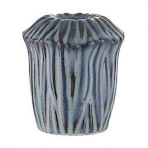 Moss Kynttilänjalka 8.5 cm Blue Mirage