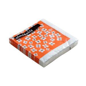 Belle Amie Paperiservetit, Oranssi