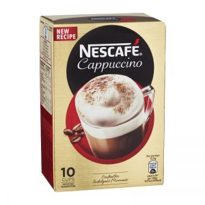Erikoispikakahvi Cappuccino Annospussi 10kpl - 30% alennus
