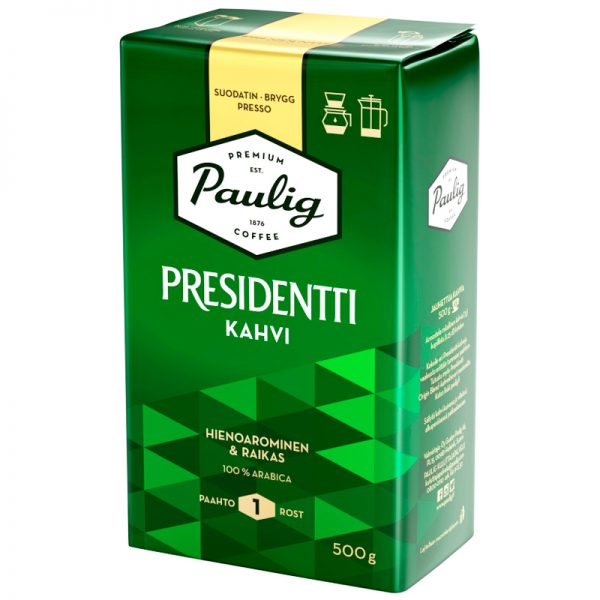Presidentti Suodatinkahvi - 31% alennus
