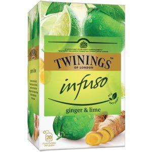 "Yrttitee ""Ginger & Lime"" 20 x 1,5g - 52% alennus"