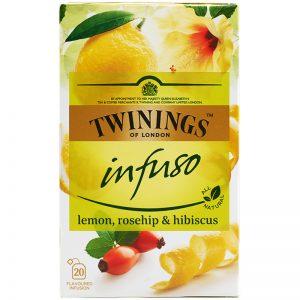 "Yrttitee ""Lemon, Rosehip & Hibiskus"" 20 x 2g - 61% alennus"