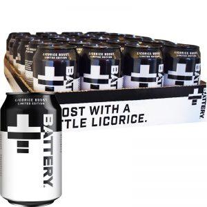 Energiajuomat Licorice 24kpl - 33% alennus