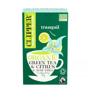 "Luomu Vihreä Tee ""Citrus & Aloe Vera"" 20-pack - 29% alennus"