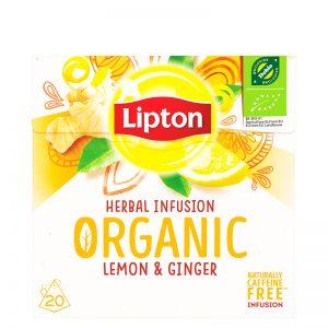 Luomu yrttitee Organic Ginger Lemon - 60% alennus