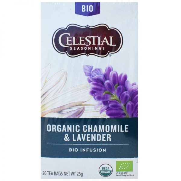 "Luomutee ""Chamomile & Lavender"" 25g - 40% alennus"