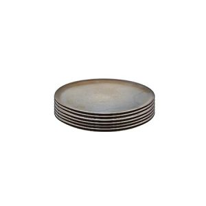 Raw dess tall ruskea metallic 6 kpl 20 cm