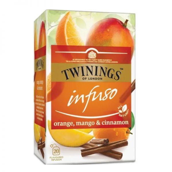 """Tee """"Orange, Mango & Cinnamon"""" 20kpl - 34% alennus"""