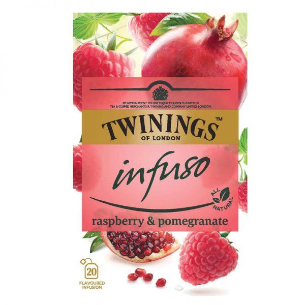 "Tee ""Raspberry & Pomegranate"" 20 x 2g - 34% alennus"