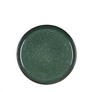 Gastro lautanen Ø 21 cm Musta/Vihreä