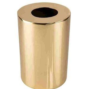 Cylinder Maljakko 24 cm Messinki