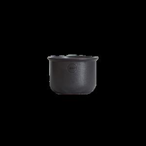 Kynttilänjalka Tub 10 cm Valurauta Musta
