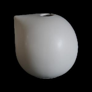 Nib Maljakko 15 cm Keramiikka Harmaa