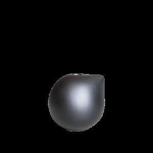 Nib Vaasi Small 10 cm Musta