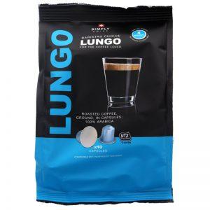 Kahvikapselit Lungo 10kpl - 41% alennus