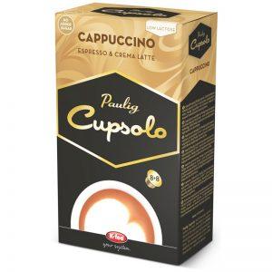 Kahvikapselit Cupsolo Cappuccino - 60% alennus