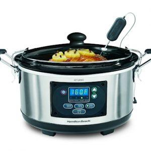 Slow Cooker 33956-SC lämpömittarilla