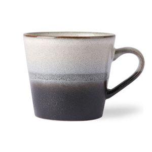 70's Kahvikuppi Musta ja Valkoinen 30 cl