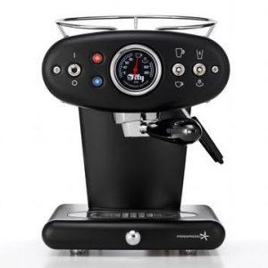 X1 E&C 60248IL Espressokone Musta