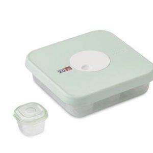Dial Baby Säilytyslaatikkosetti 10 Osaa Kirkas/Minttu - 17 cm