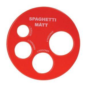 Spaghettimitta-Punainen