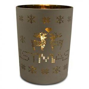 Kynttiläkuppi Merry Christmas suuri