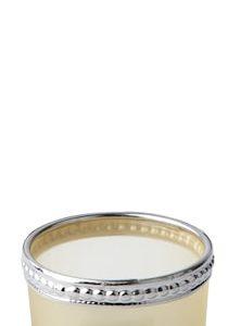Kynttilälyhty Metalli Keltainen/Hopea 3,5 cm