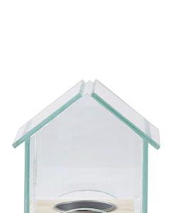 Kynttilälyhty Talo Luonnollinen 11,5 cm