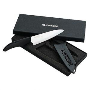 Keraaminen veitsi 14 cm teräsuojalla lahjalaatikossa