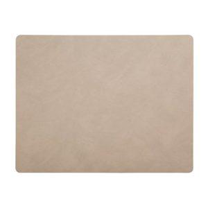 Square L Bordstablett Nupo Sand 35x45 cm