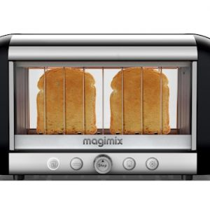 Vision toaster 2-siivua Musta/Teräs 39,5cm & 18cm