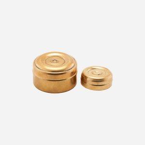 Säilytyspurkki Mini Messinki 2 kokoa k: 3 cm