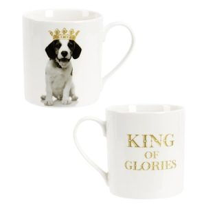 King of Animal Muki 37 cl New Bone China Koira