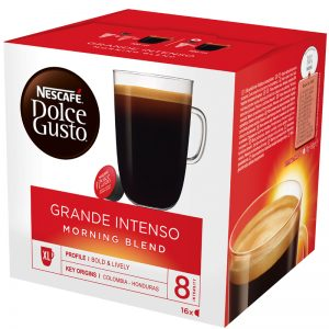 Kahvikapseli Grande Intenso 16kpl - 23% alennus