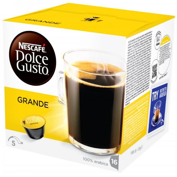 "Kahvikapselit ""Grande"" 16 x 8g - 20% alennus"