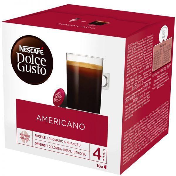 Kahvikapselit Americano 16kpl - 23% alennus