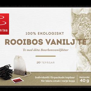 Luomu Rooibos Vanilja Tee 40g - 33% alennus