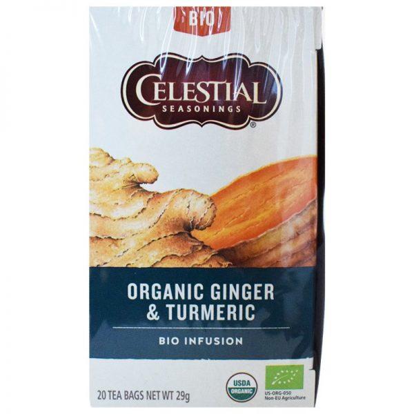 "Luomu Tee ""Ginger & Turmeric"" 29g - 25% alennus"