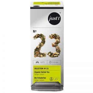 "Luomu Tee ""Organic Herbal Ginger"" 25 x 2,5g - 50% alennus"