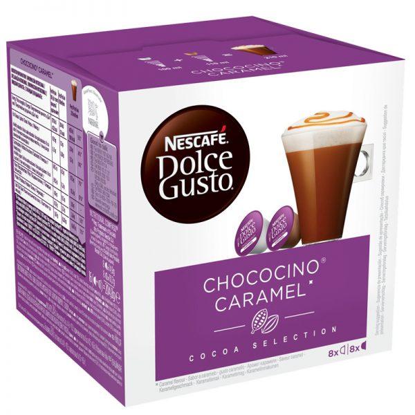 Kahvikapselit Chococino Caramel 16kpl - 27% alennus