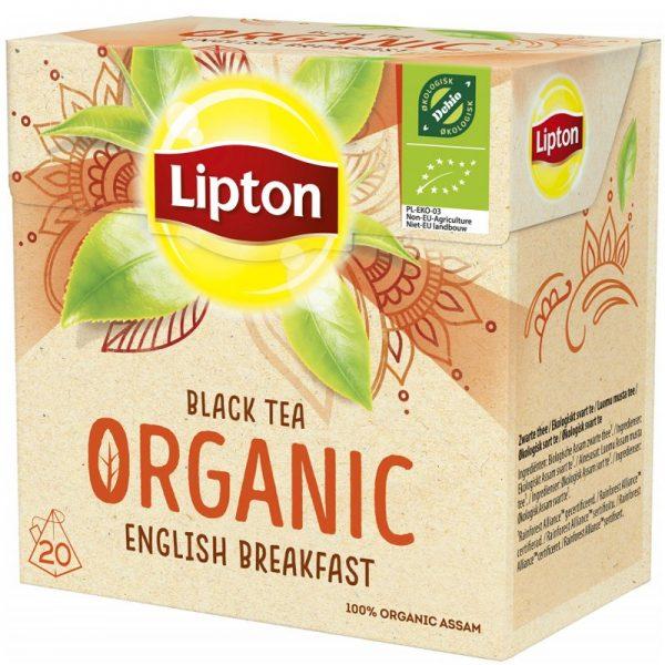 Luomutee English Breakfast 20kpl - 20% alennus